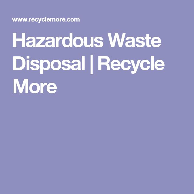 Best 25 Waste Disposal Ideas On Pinterest