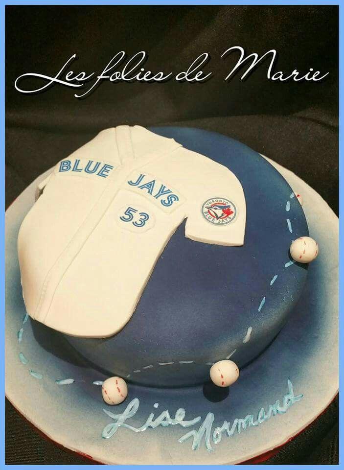 Gâteau Blue Jays / Blue Jays cake