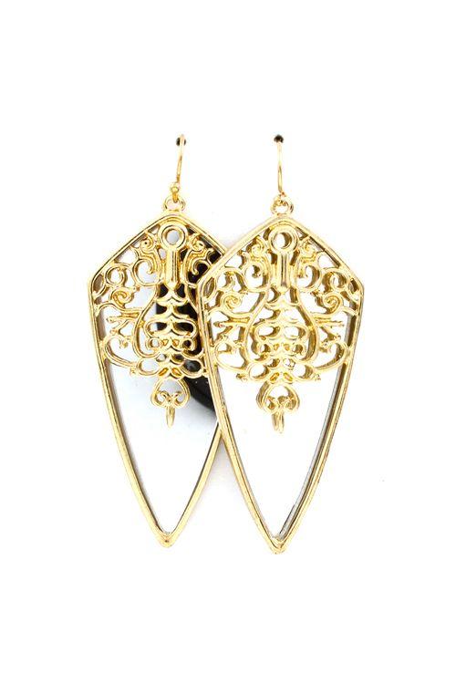 Mirrored Elana Earrings