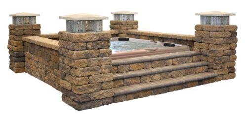 hot tub landscaping ideas   Hot Tub Enclosure