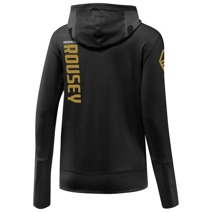 Reebok UFC Ronda Rousey Walkout Hoodie - Black | Reebok US