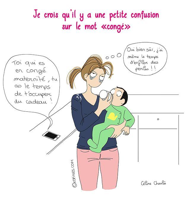 le congé maternité                                                                                                                                                                                 Plus