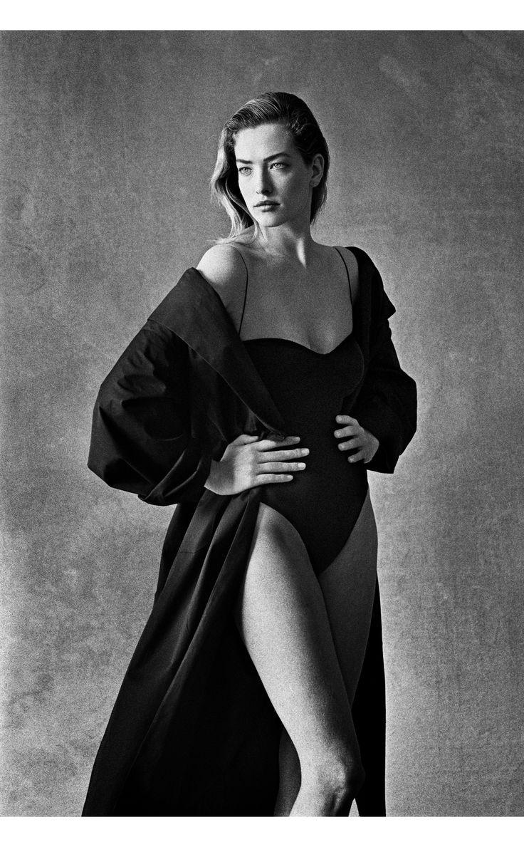 Tatjana Patitz, Calvin Klein 1987. Photo Peter Lindbergh
