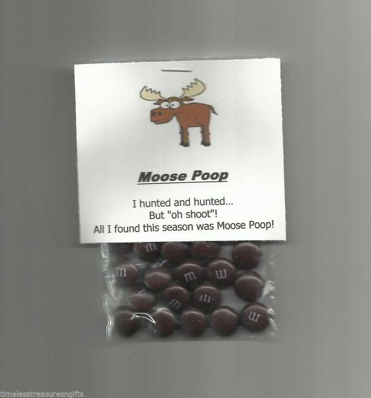 New Homemade Moose Poop Chocolate Candy Novelty Gag Gift Hunting Joke Prank #Homemade