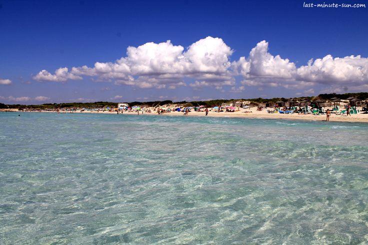 Playa Es Trenc / Colonia de St Jordi - http://www.last-minute-sun.com/last-minute-mallorca/ #mallorca