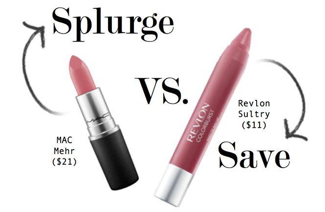 Splurge or Save? MAC Matte Lipstick vs. Revlon Matte Balm
