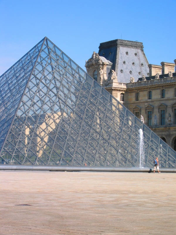17 best images about pei on pinterest john hancock suzhou and the louvre - Pyramide du louvre pei ...