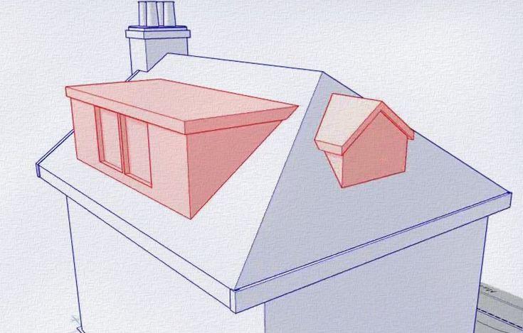 Add a sleeping loft? Gable fronted dormer loft conversion
