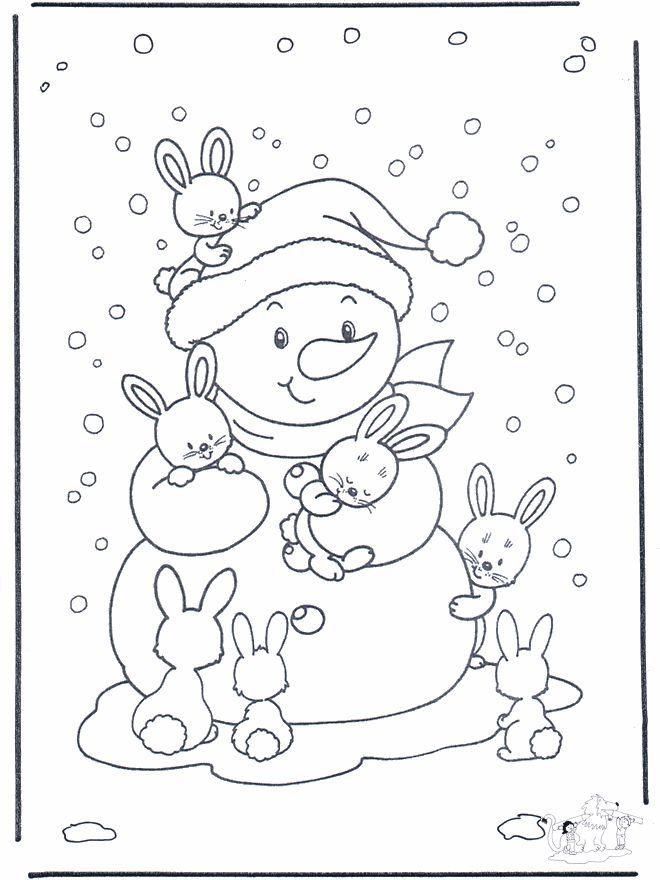 snow bunnies!