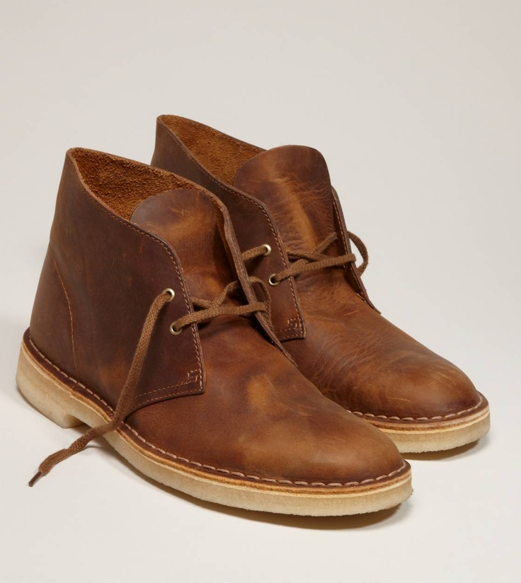 Clarks Originals Desert Boot looks great with any of AE's Slim Straight Jeans
