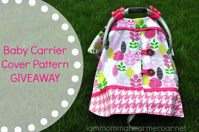 Baby Carriers Covers Free Pattern Definitely Went Girly