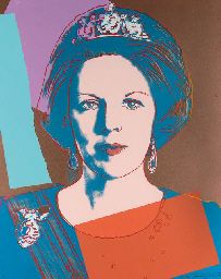 Andy Warhol, Queen Beatrix of the Netherlands, 1985, from Reigning Queens
