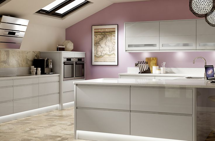 Best 25 light grey kitchens ideas on pinterest light for Light grey modern kitchen