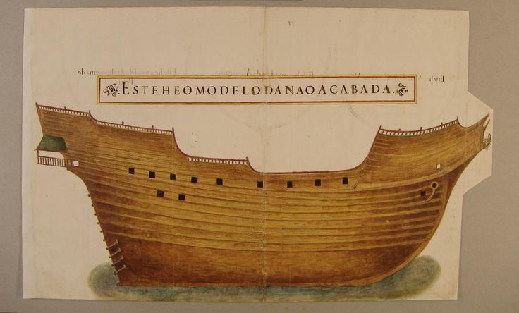 BA 52-XIV-21_fl-71_org - Manuel Fernandes (fl. 1616) - «Livro de traças de carpintaria com todos os modelos e medidas para se fazerem toda a navegação, assy d'alto bordo como de remo...». 1616. Manuscrito. Cota: Biblioteca da Ajuda, Inv. 52 – XIV - 21