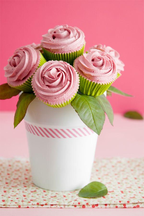 Cupcake Bouquet & Lemon Leaves Inspiration