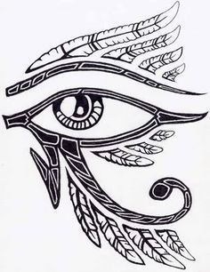 eye of horus tattoo - Google Search