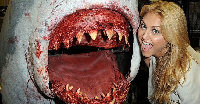 Syfy's Sharknado 3 (2015) will see Cassie Scerbo return along with Ian Ziering and Tara Reid. Anthony C. Ferrante will direct and The Asylum is also attached. I tried to jump in on the Sharknado movie a couple of times but just was at the wrong times and I was easily distracted. Sharknado 2 (2014) is currently on Netflix Instant Streaming and was a major rating puller for Syfy recently. Also cast in Sharknado 3 are Cindy Margolis, Vanilla Ice and Brittani Cox.