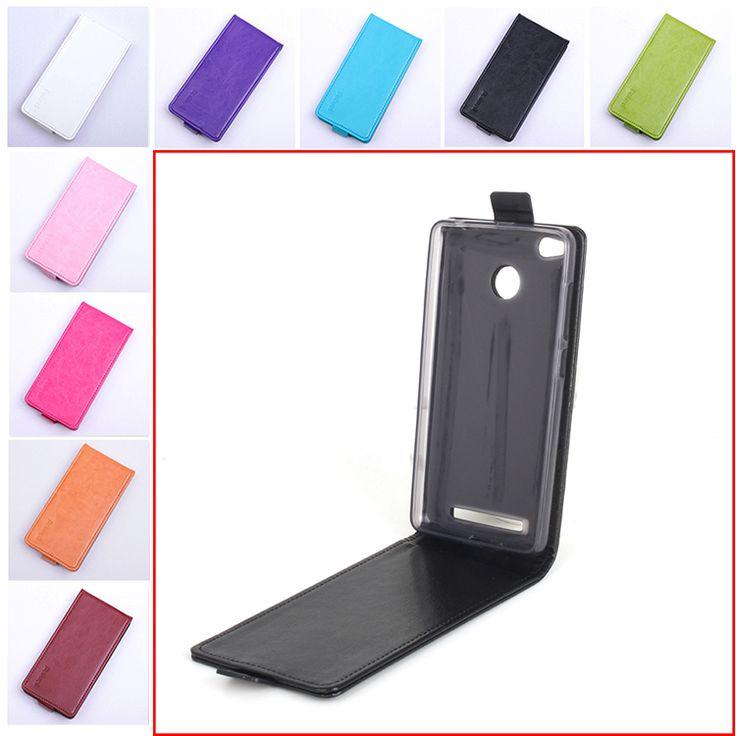 Fashion 9 Colors Flip Leather Cover Case for Xiaomi Redmi 3 Pro Vertical Back Cover Phone Case for Xiaomi Redmi 3S 3 S