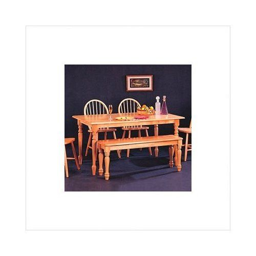 """Montrose 60"""" Rectangular Butcher Block Dining Table in Natural - http://www.furniturendecor.com/montrose-60-rectangular-butcher-block-dining-table-in-natural/ - Dining Room Furniture, Dining Tables, Furniture, Home and Kitchen"""