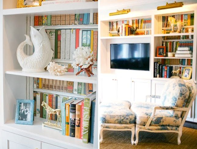 From colorful paint to funky wallpaper, we've rounded up 36 beyond brilliant ways to give the back of your bookshelf a major upgrade.