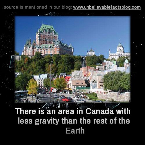 """ Gravity in the Hudson Bay area and surrounding regions is lower than it is in other parts of the world, a phenomenon first identified in the 1960s when the Earth's global gravity fields were being charted. Scientists proposed two theories to..."
