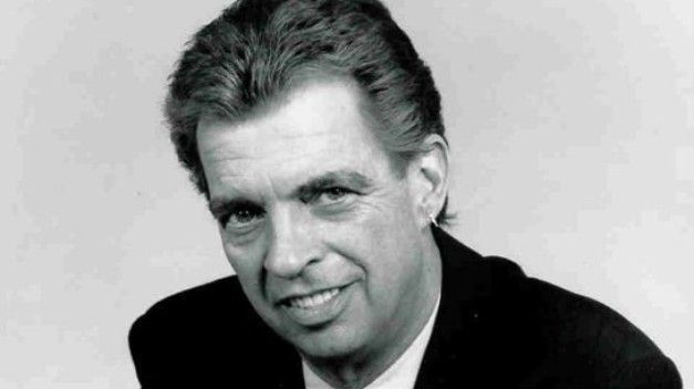 """Morton Downey, Jr., the """"Father of TV Trash Talk,"""" known for his abrasive, in-your-face style. When he was fired from his radio talk show at KFBK in Sacramento, CA, in 1984 it was Rush Limbaugh who took his place. I met and worked with him when starting to work in radio in Washington D.C. during his brief weekend stint at WWDC. From a privileged family he grew up next door to the Kennedy family in Hyannis Port, MA. His best friend growing up was Ted Kennedy. Wow! The stories he could tell!"""