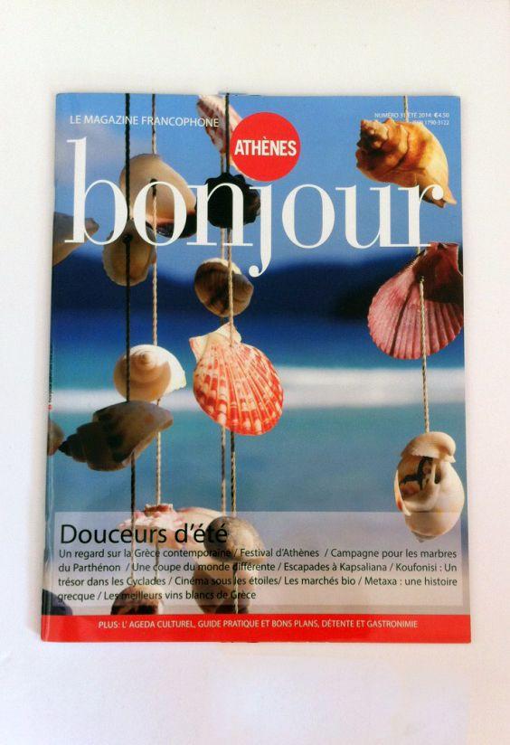 art direction for issue Bonjour/Insider Athens