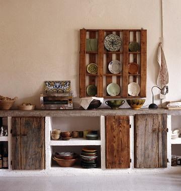 Inspirationsgalerie: Moderne rustikale Küchen
