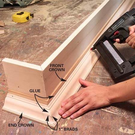 cornice box for window