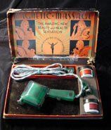 """""""Magnetic Massage"""", Son-Chief Electronics, Inc., circa 1930  #Good #Vibrations #Vibrators #Antique #Vintage #Museum #San #Francisco: Magnets Massage, Sons Chiefs Electronics, Circa 1930, Museums San, Vintage Museums, Electric Vintage, Vibrators Antiques, Antiques Vintage, San Francisco"""