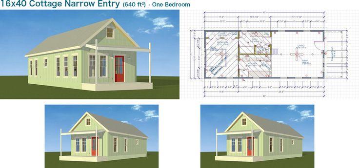 Backyard Cottage Prefab Design House Plan Affordable: Backyard Office-Guest House-Pool
