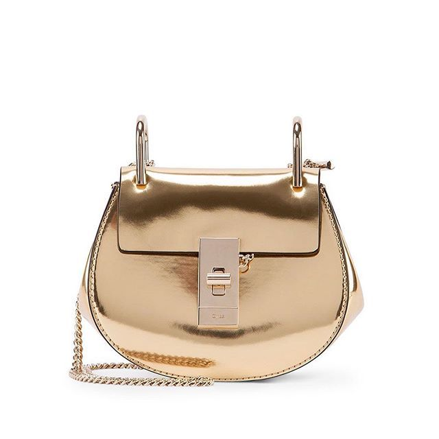 Beautiful golden Chlo¨¦ Drew bag also known as Pig bag! @chloe ...