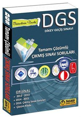 2017 DGS Son 5 Yıl Çözümlü Çıkmış Sınav Soruları Tasarı Yayınları