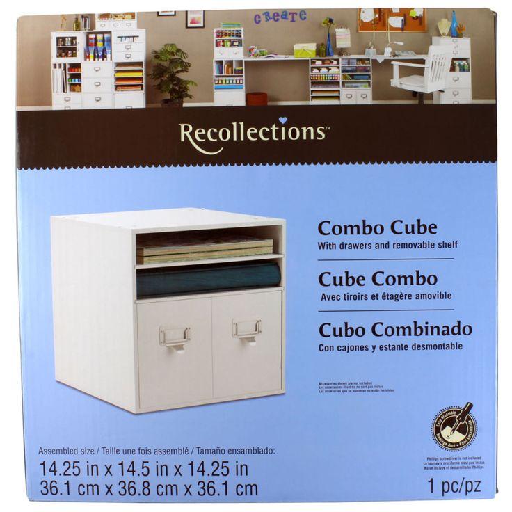 Recollections Combo Cube 14 25 Quot X 14 5 Quot X 14 25 Quot 36 1cm