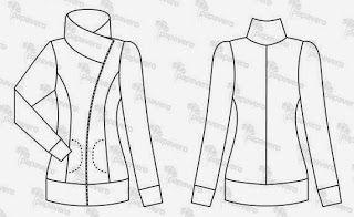 yo elijo coser: Patrón gratis cazadora tallas grandes