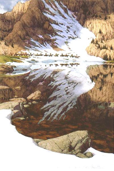 Season of the Eagle by Bev Doolittle This is the first Bev Doolittle we bought. LOVE IT!