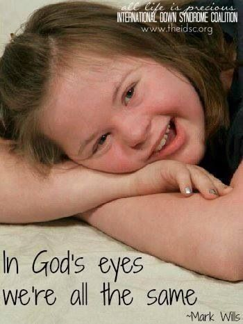 in God's eyes, we're all the same