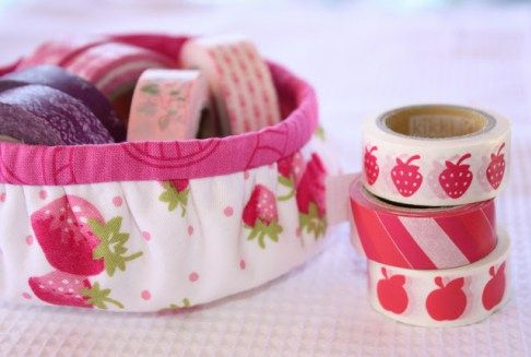 Tutorial: Gathered Round Basket - A Spoonful of Sugar