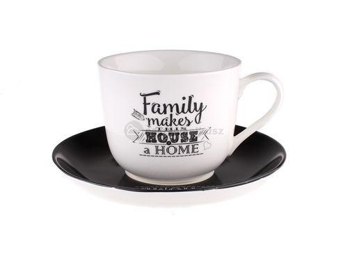 Kawa, nawet w najbardziej deszczowy dzień, będzie smakować lepiej, jeśli ma się taką filiżankę:) #kawa #dom #family #coffee #kuchnia #retro #vintage #biel