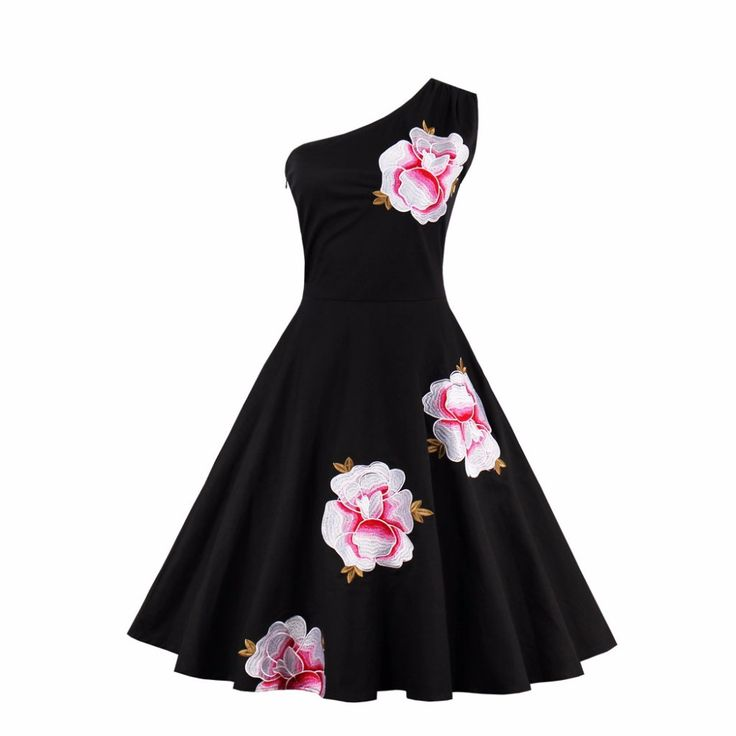 Women Dress Plus Size 2017 embroidery Slim Laides Female Evening Party Dresses Elegant A Line Belted Vestidos Big Size  #Affiliate
