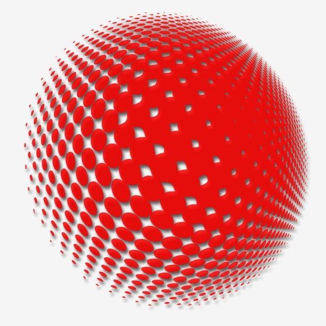 Circulo Rojo Creativo Clipart De Circulo Circulo Rojo Linea De Puntos Blancos Png Y Psd Para Descargar Gratis Pngtree Circle Pattern Circle Clipart Watercolor Circles