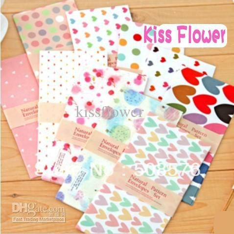 New Love Heart Stationery Envelopes / Gift&office Other Retail Supplies | Buy Wholesale On Line Direct from China