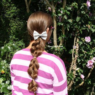 Miriam's Vlecht Lessen (Miriam's braiding instructions): 5 plukken vlecht // 5 strand braid