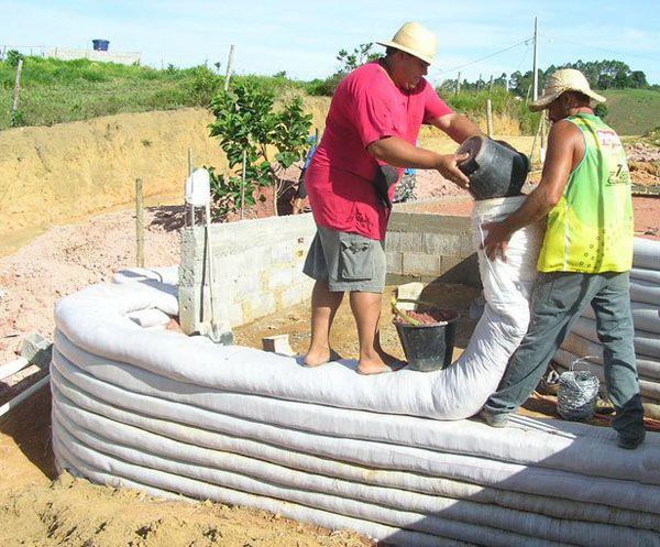 step by step Earthbag Building: Community Center for Al-Jawasreh Village