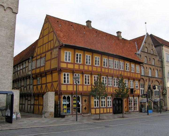 Denmark middle age house
