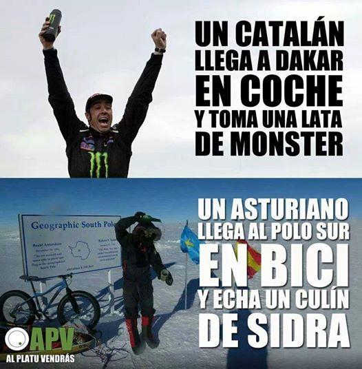 Un catalán y un asturiano...