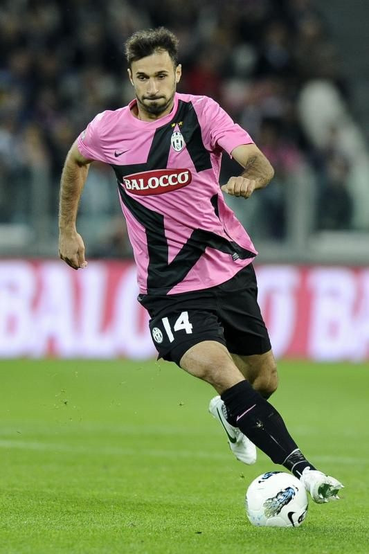 """Mirko Vucinic had an excellent performance against his former club, when Juve beat Roma 4-0. The montenegrian was involved in all 4 goals scored by the """"bianconeri""""."""