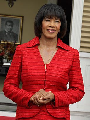 In her 2nd stint as Jamaica's only female Prime Minister, Portia Simpson-Miller did something few thought possible in one of the world's most homophobic nations: she called for full civil rights for gays and lesbians. One has to understand Jamaica's violently anti-homosexual history to appreciate her courage, which could resonate throughout the region if she's successful. #2012TIME100