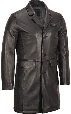 Wilsons Leather Contemporary Lamb Topper Coat - #WilsonsLeather: Discount Leather, Leather Products, Men'S Jackets, Handmade Men, Leather Jackets, Leather Coats, Black Button