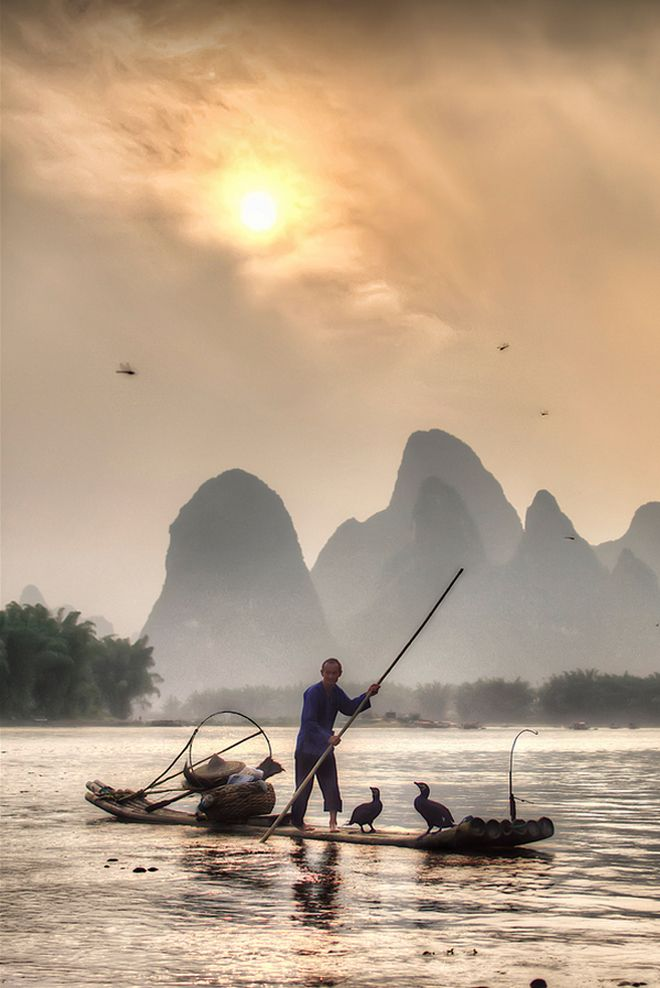 Place Guilin Yangshuo Location China Notorious Fable Making Mountains Nearest Airport Kwl
